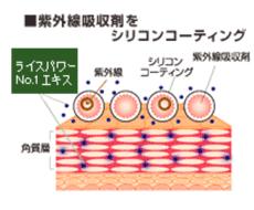 紫外線吸収剤_シリコンコーティング